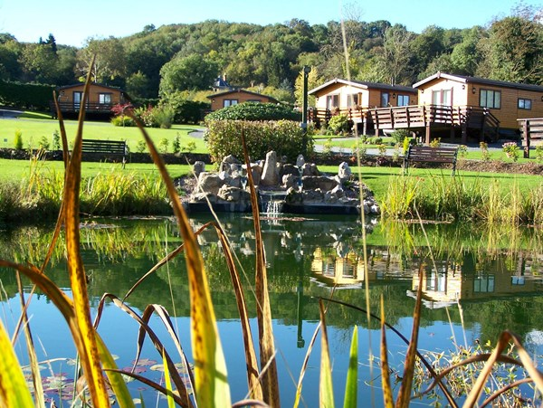 Lodges at Orleton Rise Holiday Home Park, Ludlow, Shropshire