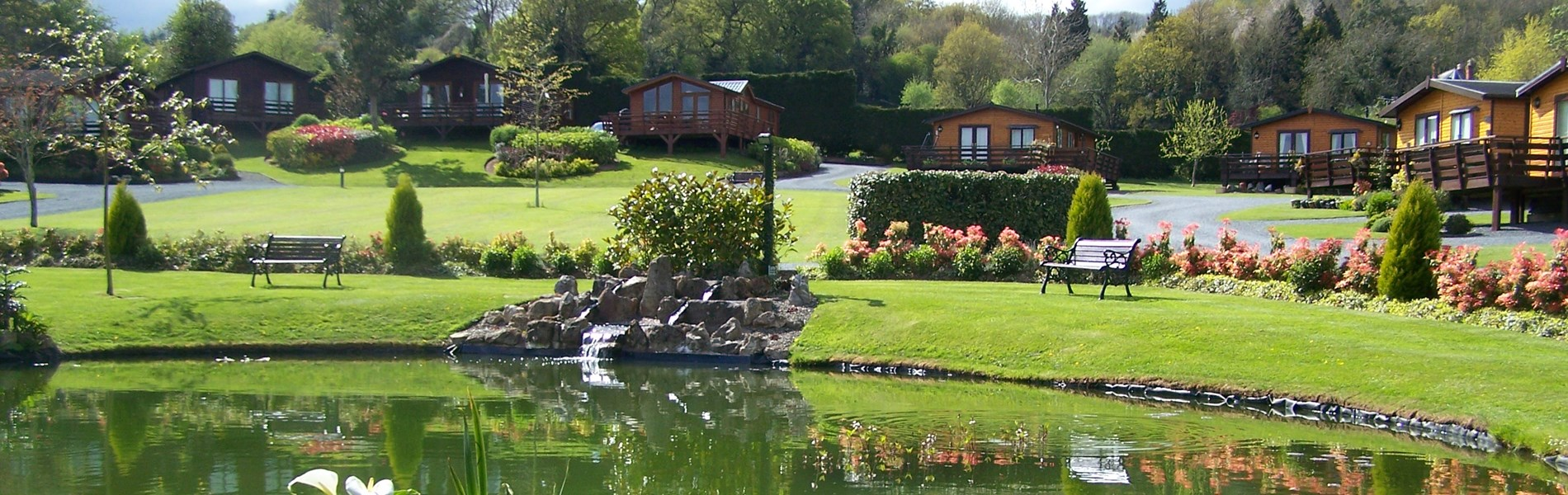 Orleton Rise Holiday Home Park Lodges set in beautiful countryside